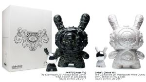 """J*RYU's Arcane Divination: 20"""" The Clairvoyant Dunny from Kidrobot"""