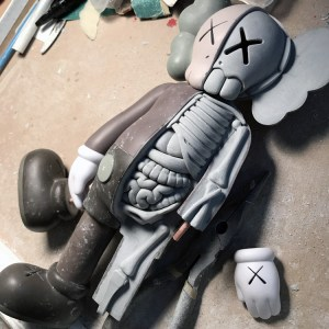 Jason Freeny's Inappropriation (KAWS Companion) - Work in Progress, sculpt completed