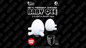 TOY2R's Do-It-Yourself Custom Baby Qee, Wave 9: EggQ (Egg Qee)