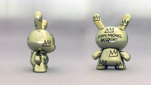 Jean-Michel Basquiat Dunny Series - Gold Chromed Crown Pattern (Gift With Purchase)