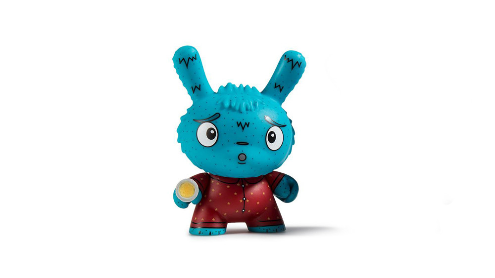 The Bots' Scared Silly Dunny Series from Kidrobot, Arya Afraid of the Dark, 2017