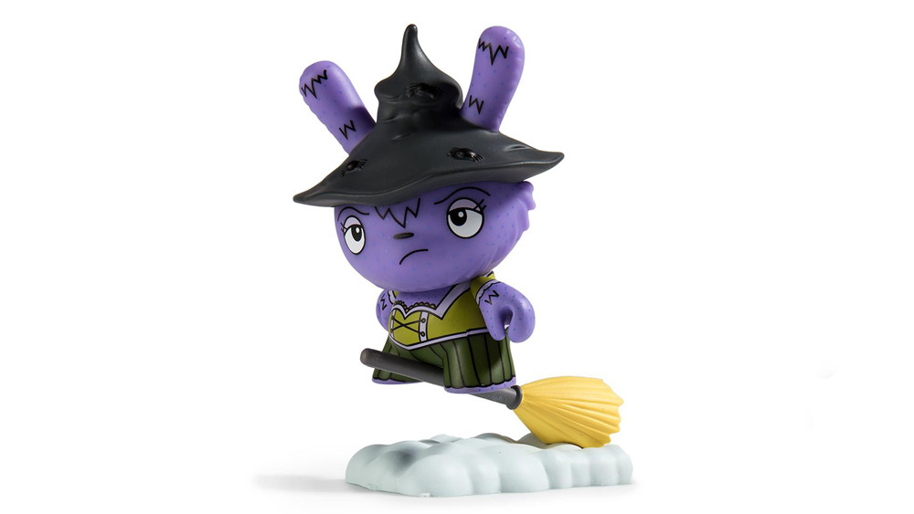 The Bots' Scared Silly Dunny Series from Kidrobot, Which Witch is Which (regular), 2017