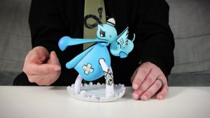 Joe Ledbetter's The Outsiders: Pelican't from Kidrobot - Band-aid Detail