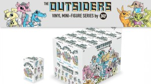 Joe Ledbetter's The Outsiders: Pelican't from Kidrobot - The Outsiders mini series