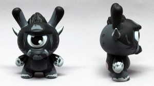 Spanky Stokes' Stroll Dunny (Midnight) for Kidrobot's Wild Ones series