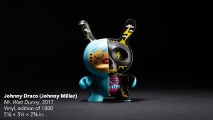 Johnny Draco's Mr. Watt Dunny from Kidrobot