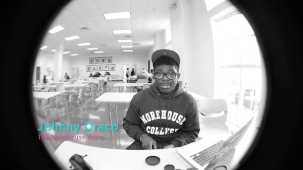 Johnny Draco photo from Morehouse College years