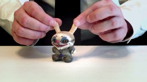 Jump Jumper Ant's Custom Dunny - Eyes Detail
