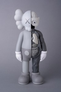 KAWS' Flayed Companion (Open Edition) - Gray