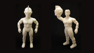 Mark Nagata's Captain Maxx from Max Toy Company, test shot in vinyl