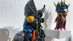 Klav / Kevin Derken's Robot Death Baltan (custom of Play Toy / Vinart Figure's Ultraman Alien)