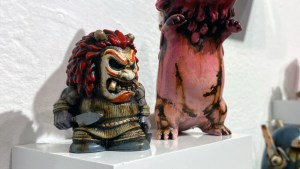 Klav / Kevin Derken's Who Goes There? Mini 2 (custom of Last Zectron & Unbox Industries's Oga-Oni WGT? Figure)