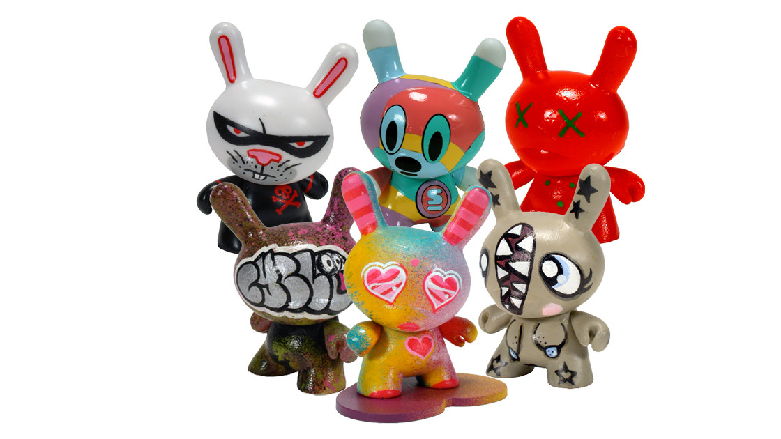 Kidrobot's Dunny Series 2 - Hand-painted Golden Tickets