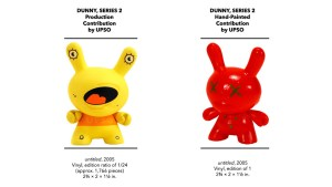 Kidrobot's Dunny Series 2 - UPSO's Production & Hand-Painted Pieces