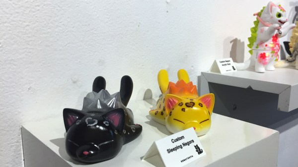 Konatsuya Exhibition - Konatsu's Custom Sleeping Negora