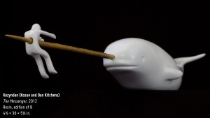 Kozyndan's The Messenger Narwhal Sculpture, 2012