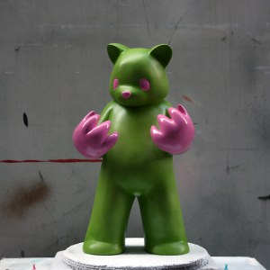 Luke Chueh's Blood On My Hands - Red Handed (Green & Pink Custom)
