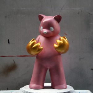 Luke Chueh's Blood On My Hands - Red Handed (Pink & Gold Custom)
