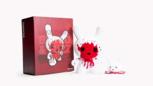 "Luke Chueh's Blood & Fuzz 8"" Dunny with Decapitated Head, 2010"