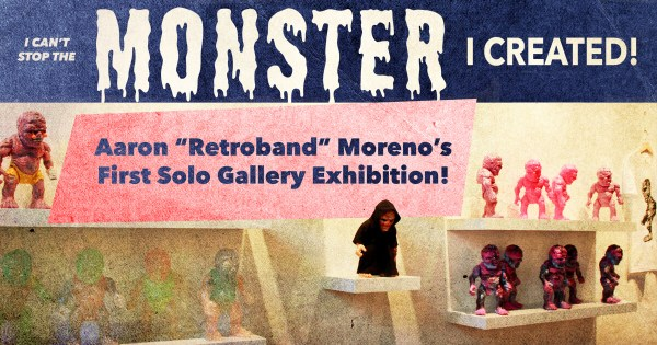 Retroband's I can't stop the Monster I created