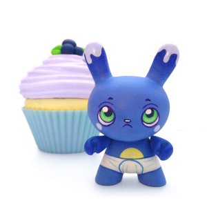 MJ Hsu - Delectables Dunny - Blueberry Baby