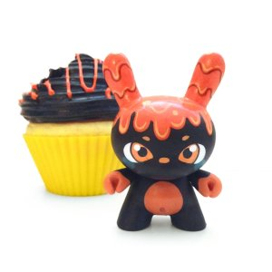 MJ Hsu - Delectables Dunny - Orange Lava Cake