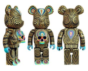 MP Gautheron - Custom Bearbrick (original figures by Medicom Toy)