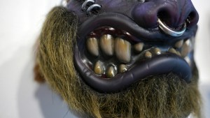 Madballs All-Star Art Jam and Exhibition - Miscreation Toys' Bad Taxidermy HornHead