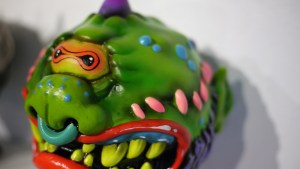 Madballs All-Star Art Jam and Exhibition - Skinner's Mad Boy Bad Ball