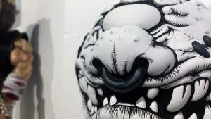 Madballs All-Star Art Jam and Exhibition - Jon-Paul Kaiser's Padraig the Dread-Eye
