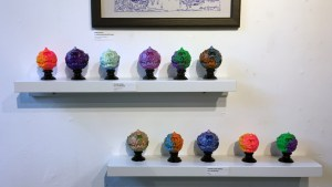 Madballs All-Star Art Jam and Exhibition - side wall overview