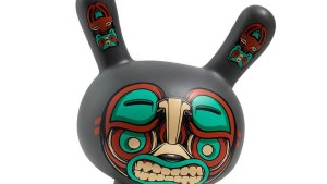 "Mike Fudge's Kuba 5"" Dunny from Kidrobot, regular grey edition"