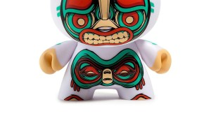 "Mike Fudge's Kuba 5"" Dunny from Kidrobot, variant white edition"