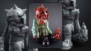 Mike Sutfin's MadBattleMan from Reckless Toys