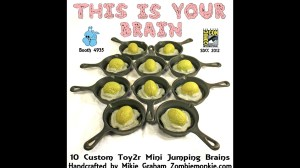 Mikie Graham's This Is Your Brain - Custom Jumping Brain announcement