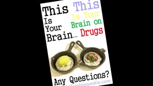 Mikie Graham's This Is Your Brain & This Is Your Brain On Drugs - Custom Jumping Brains
