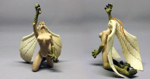 Example of Devilman figure (Sirene) from Dyn, 1999