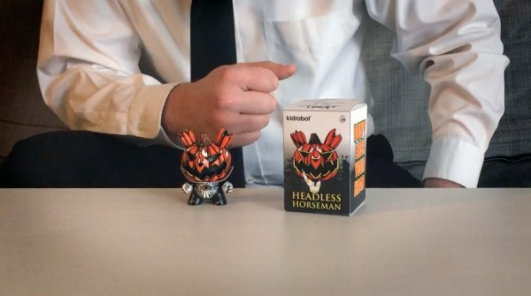 Nikejerk's Production Headless Horseman Dunny Prototype - Figure