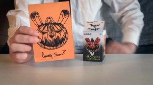Nikejerk's Production Headless Horseman Dunny Prototype - Postcard
