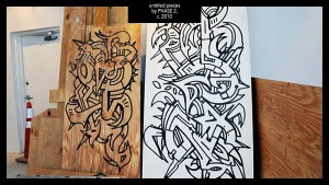 PHASE2's untitled pieces, circa 2010
