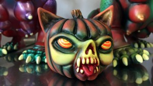 Paul Kaiju's Ring of Fire - Ate Ball's Pumcat (Pumpkin Cat)