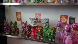 Paul Kaiju's Ring of Fire - Shelf Two, Exhibition Overview