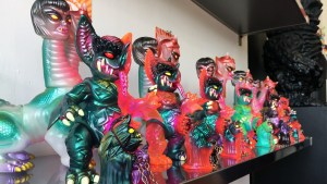 Paul Kaiju's Ring of Fire - Shelf Four, Exhibition Overview