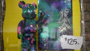 Pushead's Bearbrick work at Hyperstoic Returns