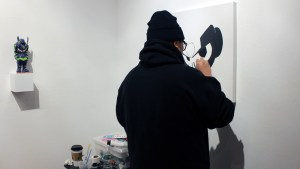 QUICCS's Live Painting at Reinforcements Have Arrived show
