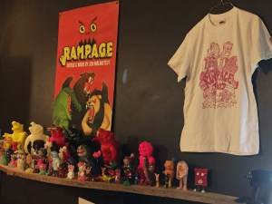 Rampage Toys Catalog Display at Rampage Toys' Rampage Kudasai