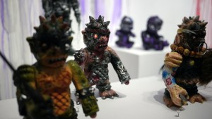 Violence Toy's Trollborg - Cygore at Clutter Gallery's Vinylploitation exhibition