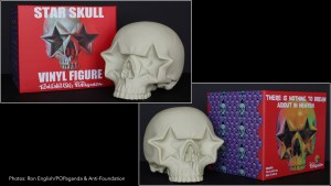 Ron English's Star Skull - Vinyl version