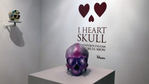 American Gross / Dethchops' Love Hurts (Custom Ron English Heart Skull)
