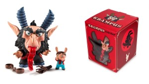 Scott Tolleson & SeriouslySillyK's KRampus Dunny (Regular Black Version) from Kidrobot